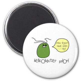 Ulcer 2 Inch Round Magnet