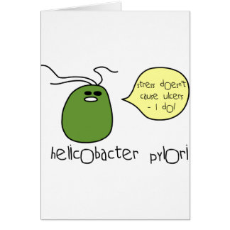 Ulcer Greeting Cards
