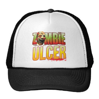 Ulcer Zombie Head Trucker Hat