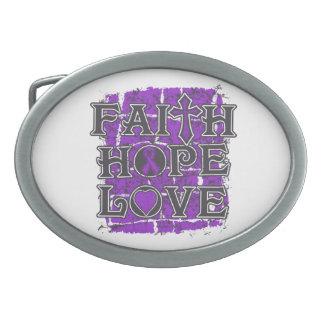 Ulcerative Colitis Faith Hope Love Belt Buckles
