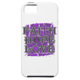 Ulcerative Colitis Faith Hope Love iPhone 5 Covers