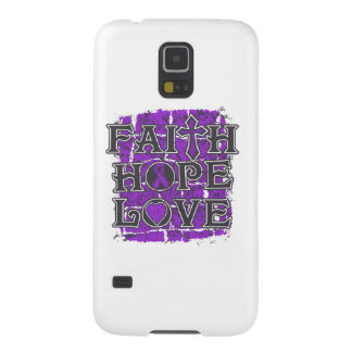 Ulcerative Colitis Faith Hope Love Galaxy S5 Cover