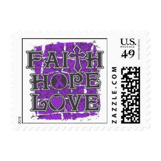 Ulcerative Colitis Faith Hope Love Postage