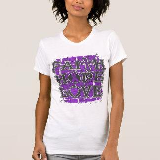 Ulcerative Colitis Faith Hope Love Tee Shirts