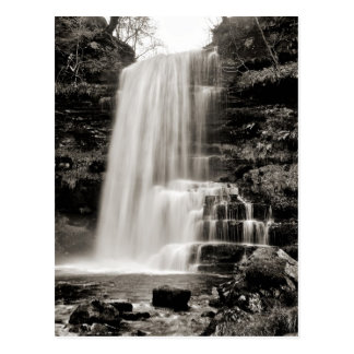 Uldale Force, Cumbria -  sepia tone Postcard