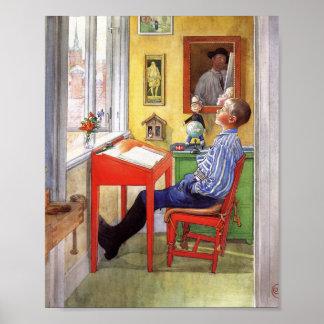 Ulf Doing His Homework Poster