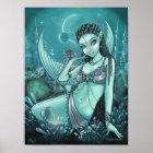 Uli Alien Mermaid Crystal Dragon City Poster