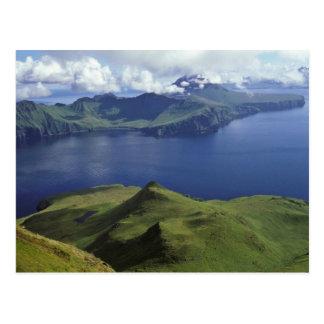 Uliaga Island, seen from Kagamil Island, 1987 Postcard