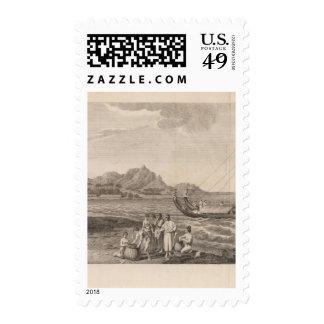 Ulietea View, Polynesia Postage Stamps