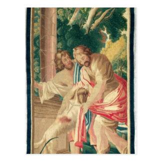 Ulises acompañó por Telemachus Postal