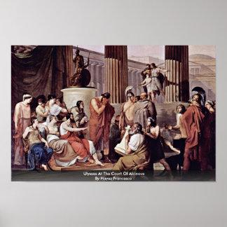 Ulises en la corte de Alcinous Póster