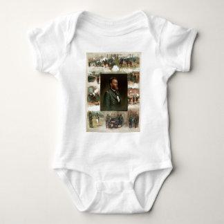 Ulises S. Grant de West Point a Appomattox Body Para Bebé