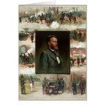 Ulises S. Grant de West Point a Appomattox Tarjeton