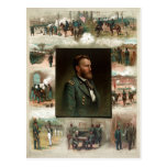 Ulises S. Grant de West Point a Appomattox Tarjetas Postales