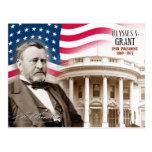 Ulises S. Grant - décimo octavo presidente de los  Postal