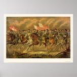 Ulises S. Grant y sus generales de E. Boell 1865 Impresiones