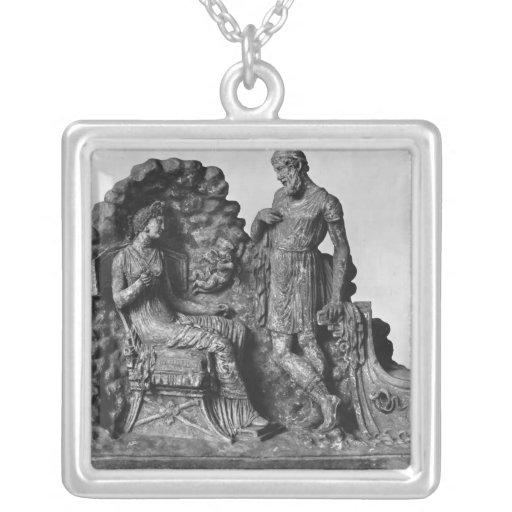 Ulises y Calypso, de Tanagra Pendientes Personalizados