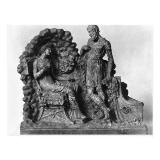 Ulises y Calypso, de Tanagra Postal