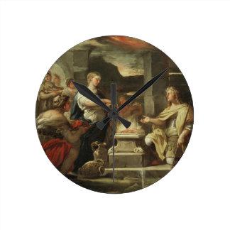 Ulises y Calypso Reloj Redondo Mediano