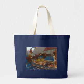 Ulises y las sirenas de John William Waterhouse Bolsa De Mano