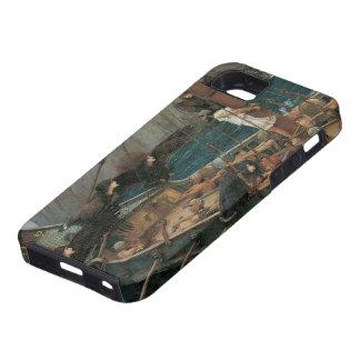 Ulises y las sirenas por el Waterhouse de JW iPhone 5 Case-Mate Carcasa