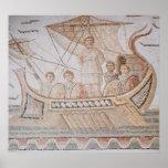 Ulises y las sirenas póster