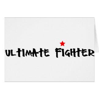 Ulitmate Fighter Card