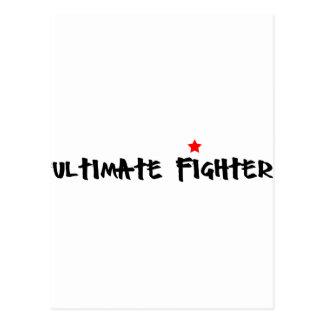 Ulitmate Fighter Postcard