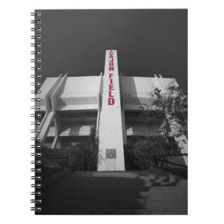 ULL Cajun Field Stadium Notebook