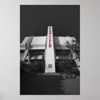 ULL Cajun Field Stadium Poster