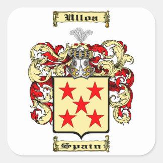 Ulloa Square Sticker