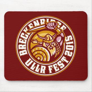 Ullr Fest Maroon 2015 Mouse Pad