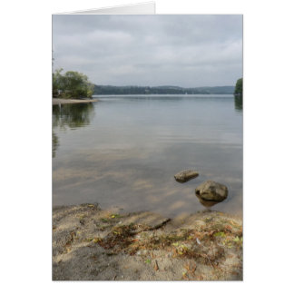 Ullswater Lake from Howtown, Cumbria Greeting Card