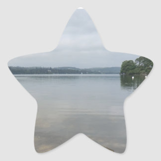 Ullswater Lake from Howtown, Cumbria Star Sticker