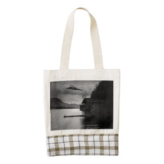 Ullswater Vulcan Zazzle HEART Tote Bag