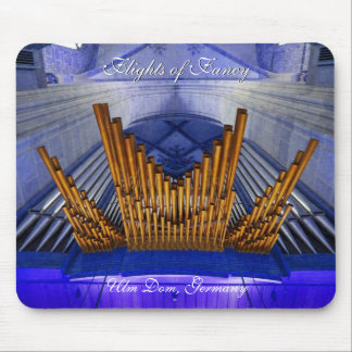 Ulm Cathedral - Flights of Fancy Mouse Pad