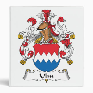Ulm Family Crest Binder