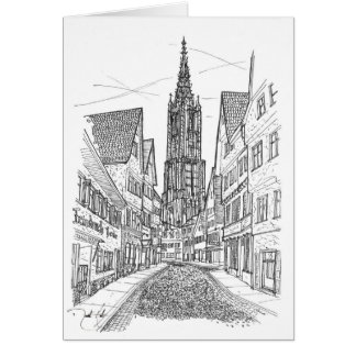 Ulm Germany Card