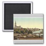 Ulm, Wurtemburg, Germany rare Photochrom Fridge Magnets