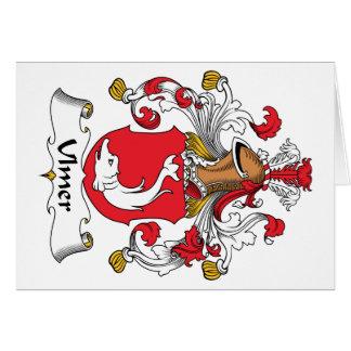 Ulmer Family Crest Greeting Card