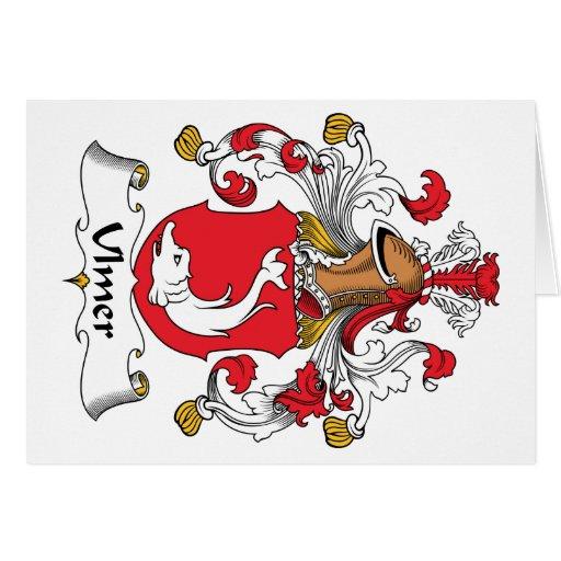 Ulmer Family Crest Cards