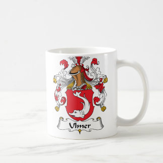 Ulmer Family Crest Classic White Coffee Mug
