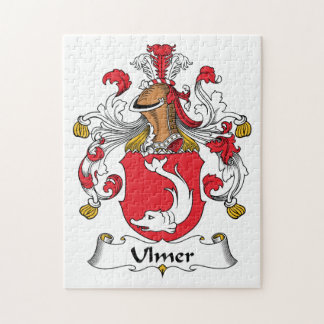 Ulmer Family Crest Puzzles