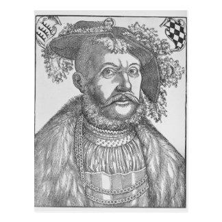 Ulrich, duque de Wurttemberg Tarjeta Postal