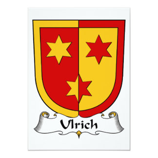 Ulrich Family Crest Card