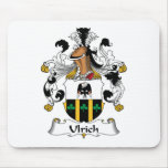 Ulrich Family Crest Mouse Pad