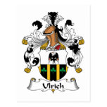 Ulrich Family Crest Post Cards