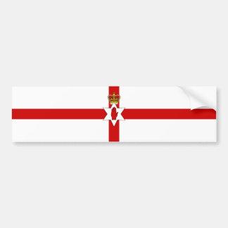 Ulster Banner Northern Ireland Flag Bumper Sticker