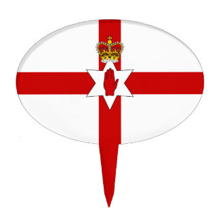 Ulster Banner Northern Ireland Flag Cake Topper