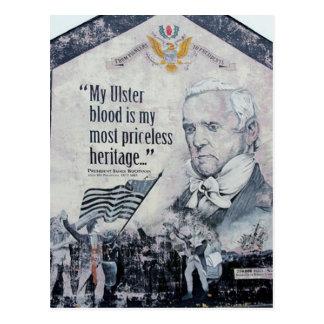 Ulster blood postcard